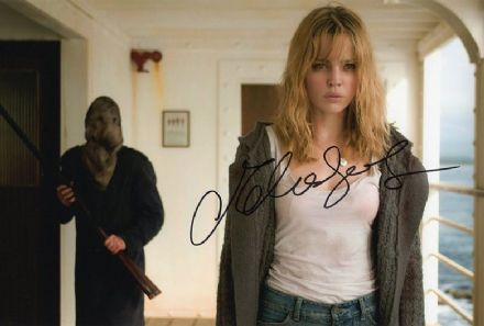 Melissa George, Australian actress, signed 12x8 inch photo.